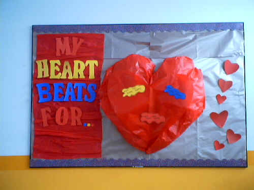 My Heart Bulletin Board Suggestion