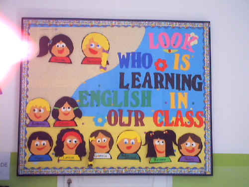 Look Who Is Learning Bulletin Board Suggestion