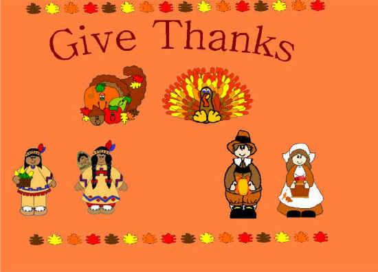 Give Thanks Bulletin Board Suggestion