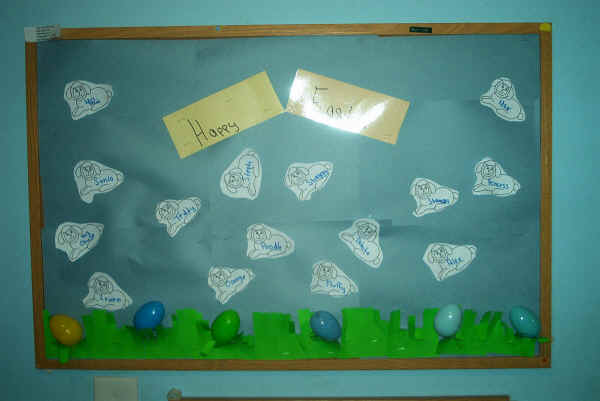 Easter bulletin board ideas pictures to pin on pinterest