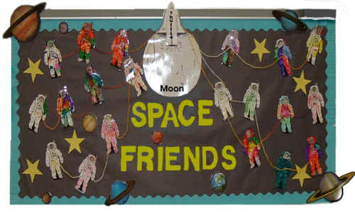 Space Friends Bulletin Board Suggestion