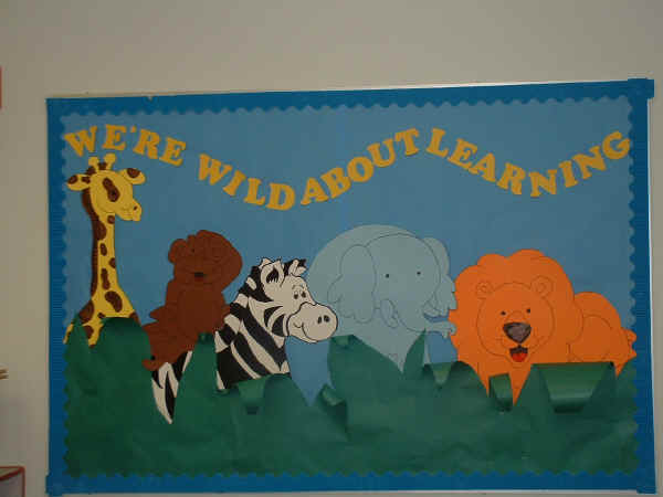 We're Wild About Learning