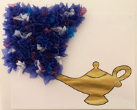 magic lamp craft.