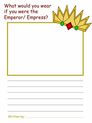 the emperor wears new clothes pdf