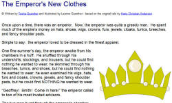 The Emperor 39 s New Clothes