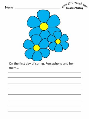 picture about Writing Prompt Printable identify Persephone Producing Prompts