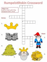 Fairy Tale And Nursery Rhyme Crossword Puzzles