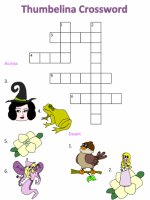 Thumbelina Picture Crossword