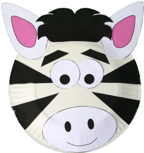 zebra plate craft