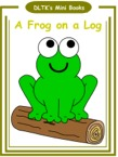 frog mini books with activity worksheets