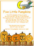 photo about Five Little Pumpkins Poem Printable named 5 Small Pumpkins Poem
