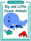 ocean animals mini book