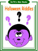 halloween riddles mini book